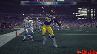 Madden 15 | The Flats are LOCKED DOWN! | Best CB in Madden 15? | Rams vs. Lions