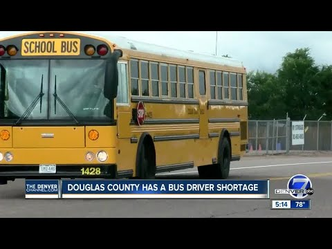 Douglas County school facing bus driver shortage