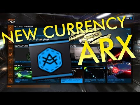 New In-Game Currency ARX : How It Works | Elite Dangerous