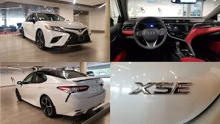 2020 Toyota Camry XSE Delivery