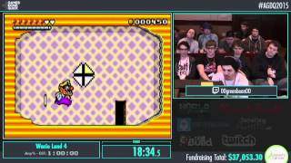 Awesome Games Done Quick 2015 - Part 2 - Wario Land 4 by 00greenbean00