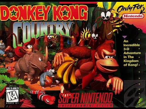 Game Play - Donkey Kong Country !
