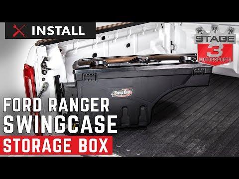 2019 Ranger Undercover Swing Case Storage Box Install