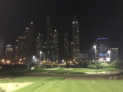Dubai Trip, Emirates Golf Club