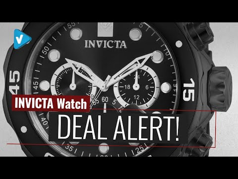 Save Big On INVICTA Men Watch Now On Amazon UK Black Friday Cyber Monday Deals 2019