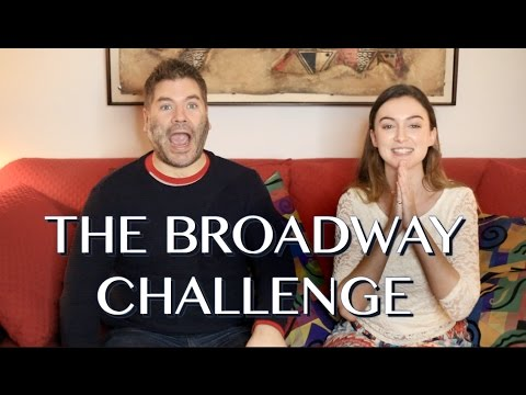 THE BROADWAY CHALLENGE ft. Patrick Hinds