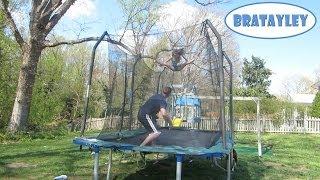 Epic Straddle Jump Bouncing! (WK 173) | Bratayley