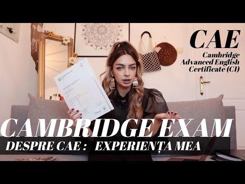 Despre examenul Cambridge (CAE) - Experiența mea + Sfaturi | Maria Dius