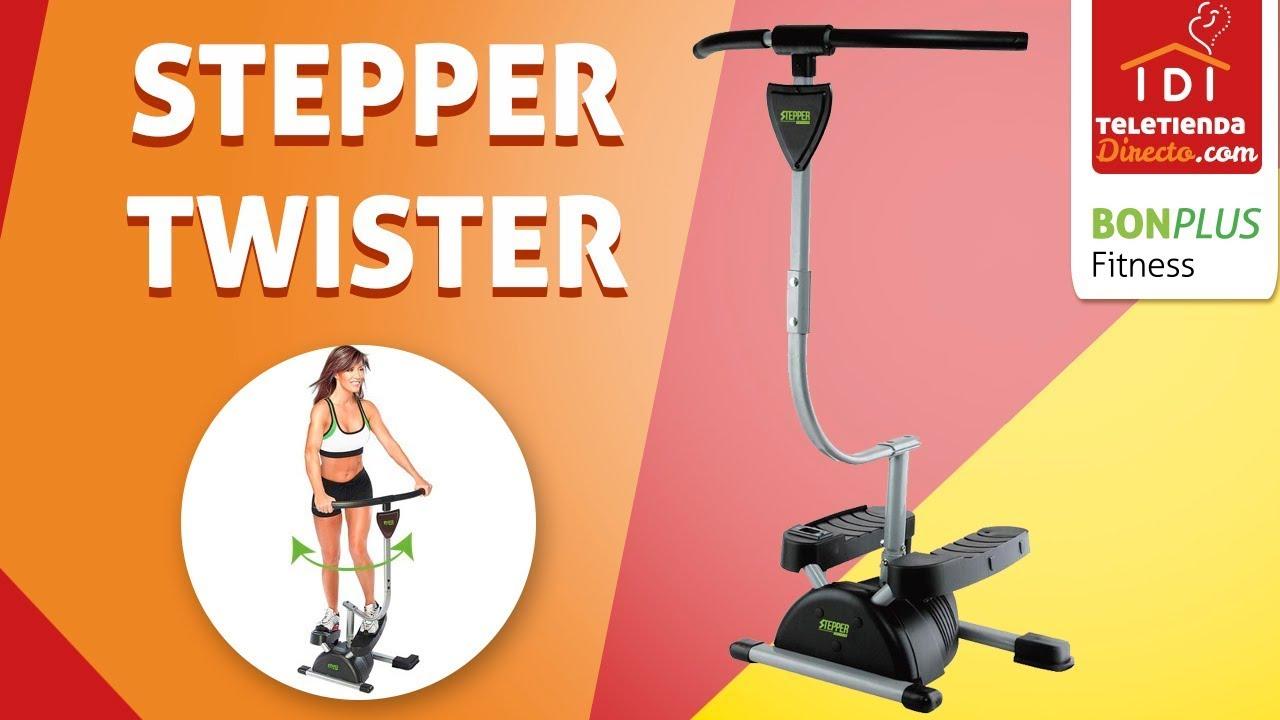 Stepper Twister Gimnasia En Casa Cardio Twister Youtube