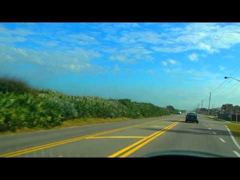 МОЯ АМЕРИКА Дорога вдоль пляжа Flagler beach Florida 2013