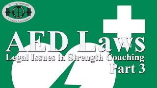 Automated External Defibrillator Laws | Brodie Butland, SSC