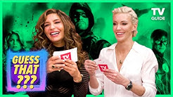 Arrow's Katie Cassidy and Juliana Harkavy Play Guess That Arrowverse Character