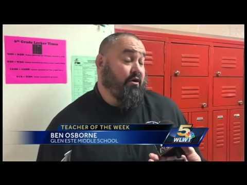 Teacher of the Week: Ben Osborne, Glen Este Middle School