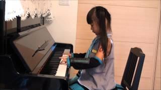 『千本桜』 初音ミク ピアノ ☆小学1年生(6歳) rainbowsky77star