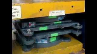 Anulab Pot Cum Ptfe Bridge Bearing 260 Mt- Rotation Test As Per Irc 83 Part Iii.mpg