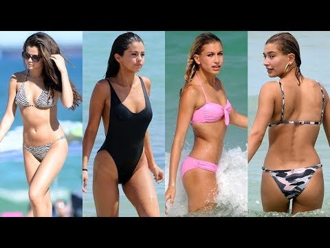 Selena Gomez vs Hailey Bieber Transformation 2018