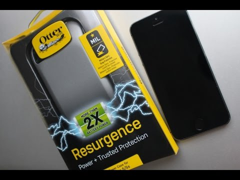 best loved c752c 556a3 Built in Battery Backup! - Otterbox Resurgence Case - iPhone 5 / 5S / SE -  In-depth Review