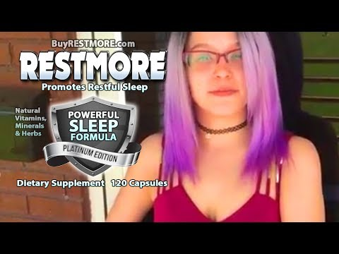 RESTMORE Sleep Aid Review By Brittany - BuyRESTMORE.com