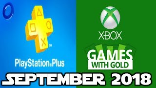 PS4 and XBOX ONE Free Games of September (2018)