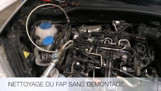 Nettoyage du filtre à particules (FAP) sans démontage ! Rapide et éfficace ! HYDRO CLEAN CARS