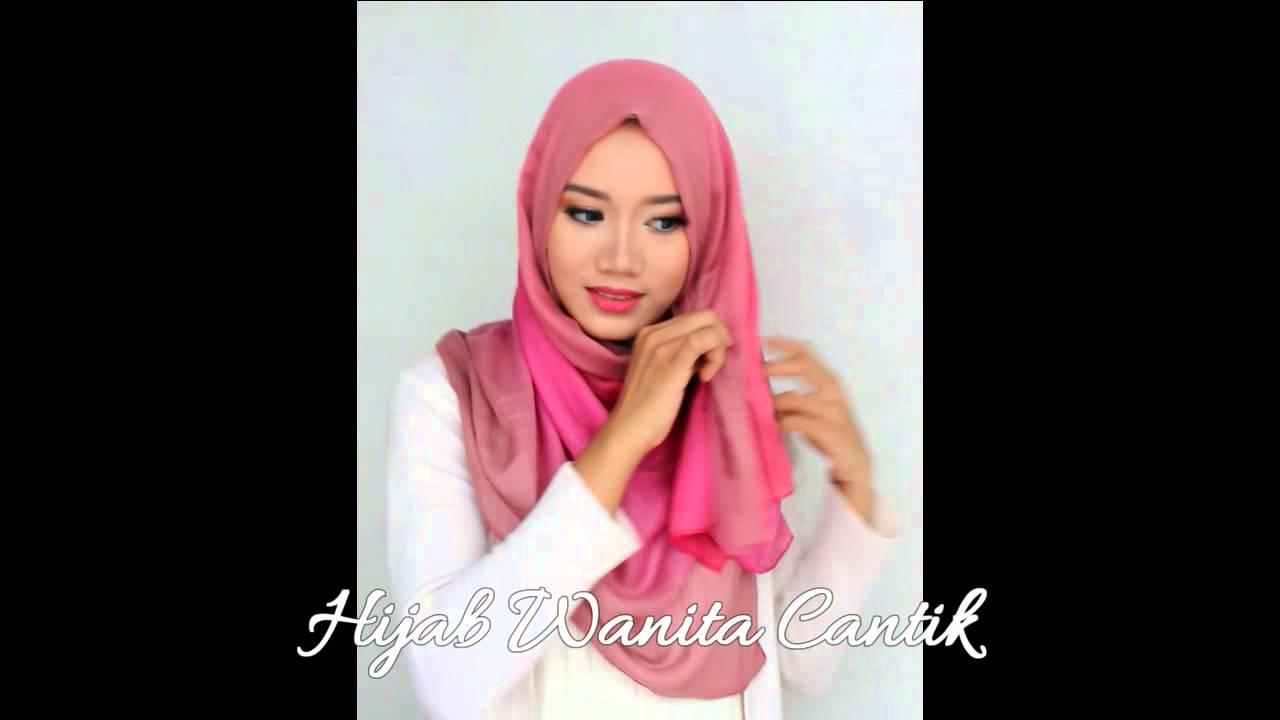 Hijab Tutorial Segiempat Rainbow YouTube