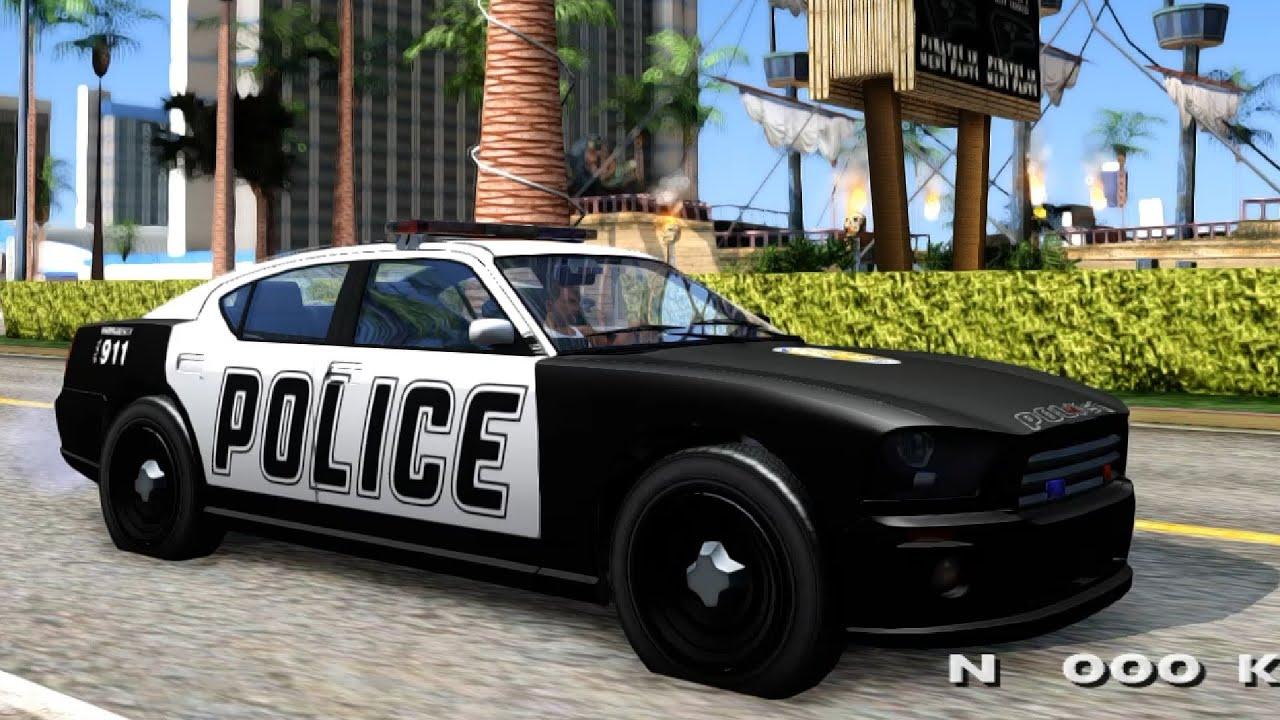 GTA V Police Buffalo - GTA San Andreas