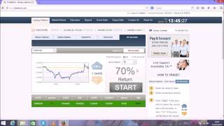 Easy binary options trading system  Live Step by Step