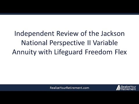 Jackson National Perspective II Variable Annuity Review - 2013 Update