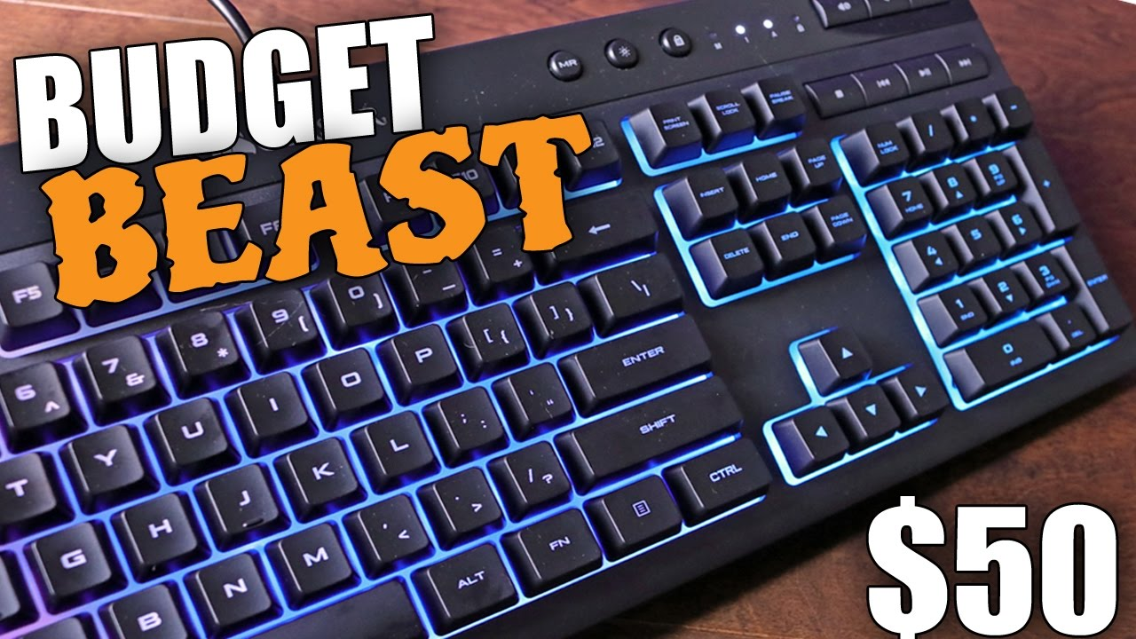 AMAZING Gaming Keyboard for $50? Corsair K55 RGB Review