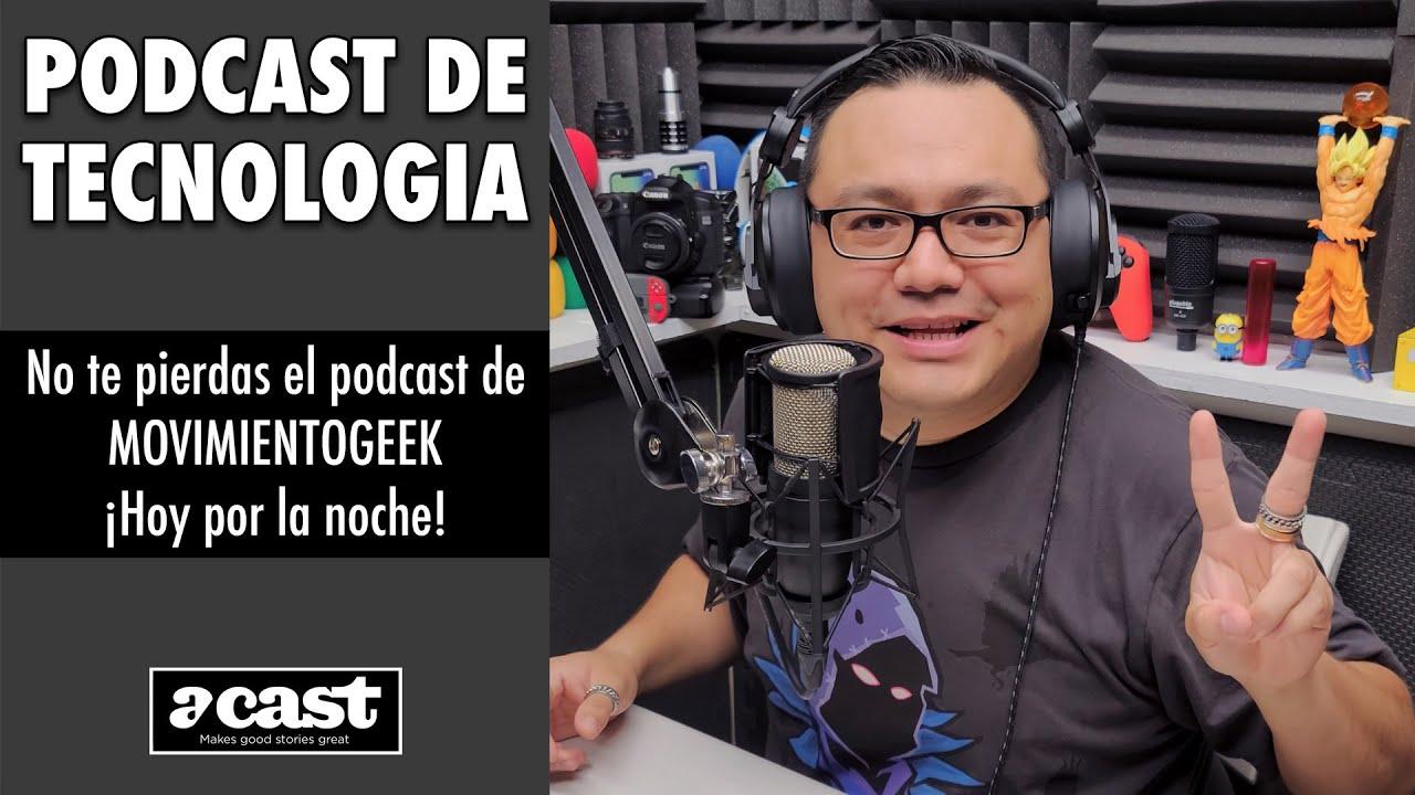 Hoy estaremos en MovimientoGeek Podcast