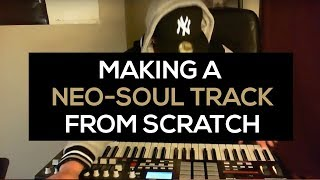 Beatmaking : MellaMayne makes another Neo-Soul beat from scratch