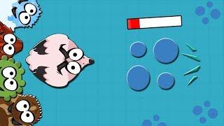 Mope io Flamingo takes players from under the water! Фламинго достает игроков из-под воды