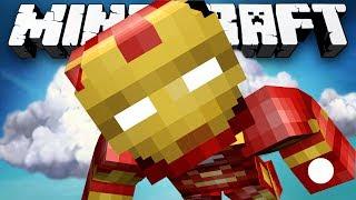 Minecraft: SUPER HERO PVP! - w/Preston & Friends!