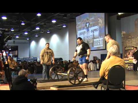 2009 Arnold Classic Strongman Axle Press 1/3