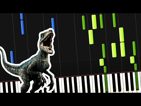 Jurassic Park  Theme Song Piano Tutorial Synthesia