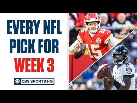 Brady Quinn and Pete Prisco make EVERY WEEK 3 NFL Pick | CBS Sports HQ