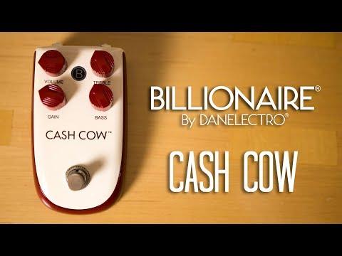 Danelectro Billionaire - Cash Cow (3 Guitars) Pedal Demo