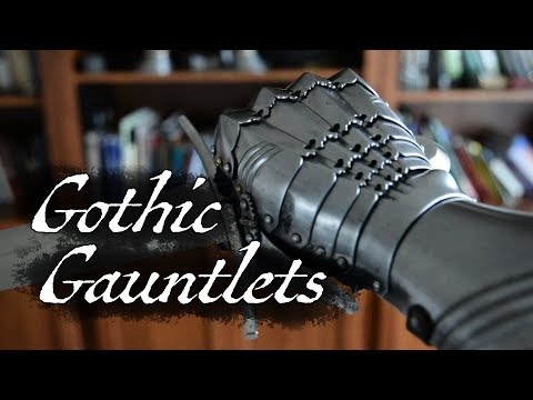 Late 15th Century Gothic Style Gauntlets