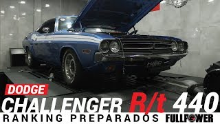 Dodge Challenger R T 440 big block raro at nos States, aqui no Ranking Preparados