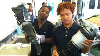 Auto body  Program , Driveourfuture,  Simeon Career Academy 2012,2013,2014,2015