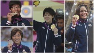 史上最多38のメダル獲得  メダリスト総集編(前編)