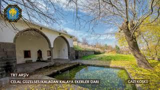 Diyarbakır Türküleri Celal Güzelses Kaladan Kalaya Ekerler Darı TRT Arşiv
