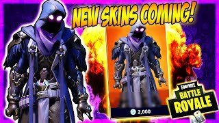 "New Skin Coming To Fortnite Battle Royale!! | ""Secret Dark Reaper Skin"""