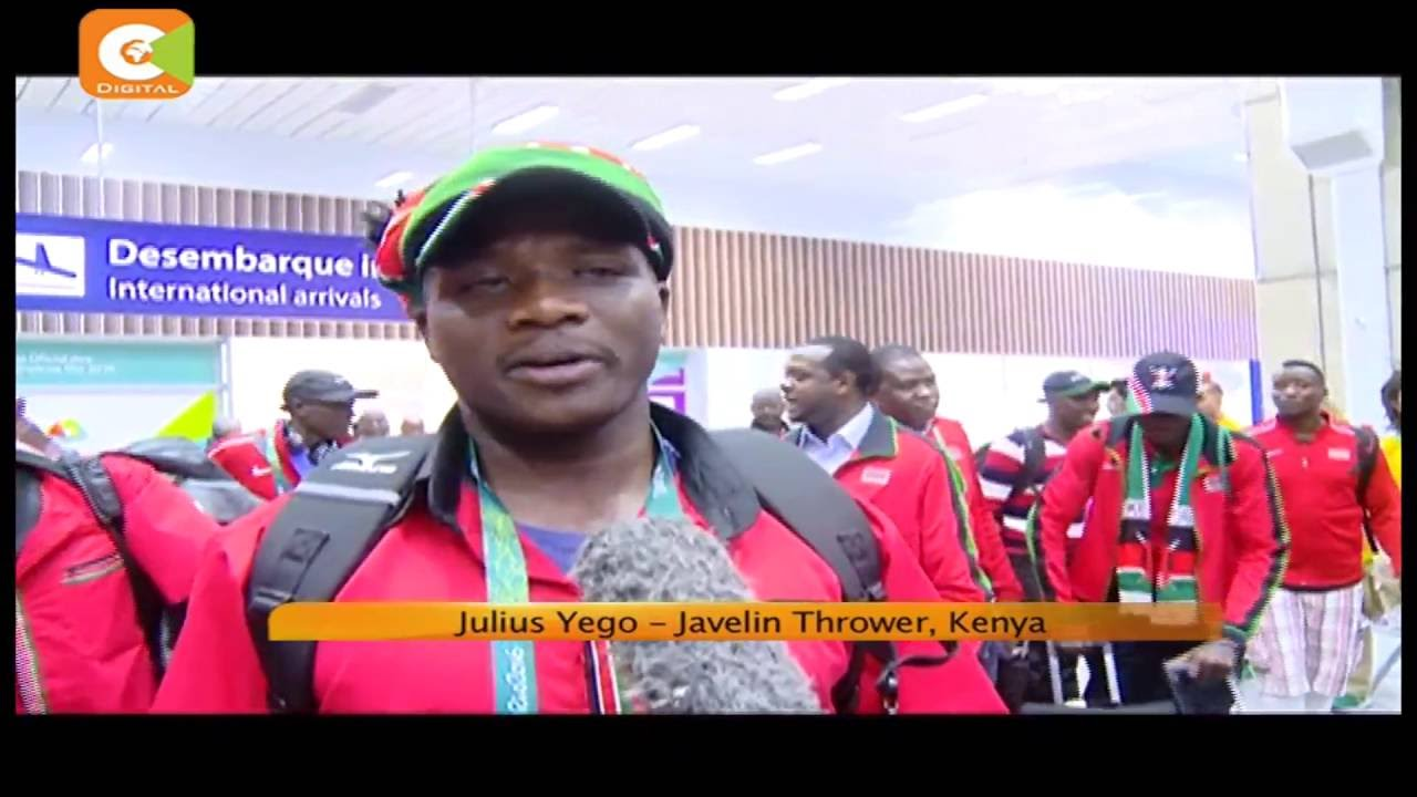 Kenyan athletes protest over logistics of event