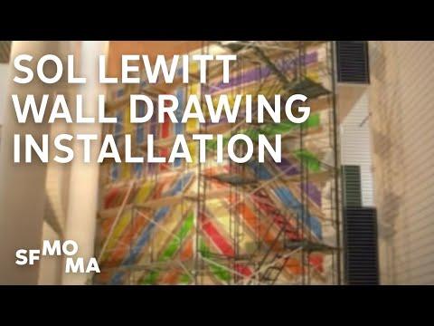sol lewitt wall drawing 122