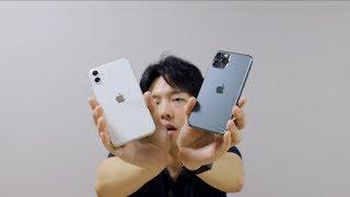 아이폰 11 프로와 아이폰 11 언박싱 첫인상