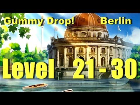 Gummy Drop! Конфетки!  - Berlin Level 21 - 30