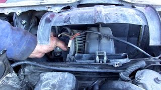 видео Мерседес Бенц 124 :: Системы охлаждения, отопления и вентиляции :: Mercedes-Benz W124