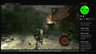Foxxy plays Resident Evil 5 part 4