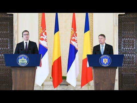 Declarație de presă comună a Președintelui României cu Președintele Republicii Serbia